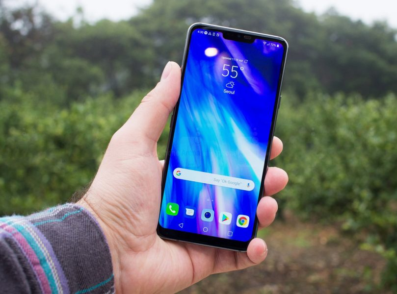 Обзор LG G7 ThinQ - дорогой, но умный гаджет LG  - 1525346528_lg-g7-design1