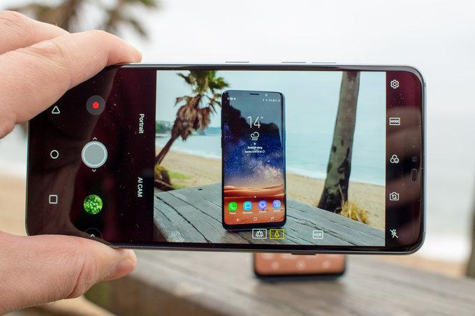 Обзор LG G7 ThinQ - дорогой, но умный гаджет LG  - 1525346585_lg-g7-camera-ui