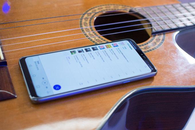 Обзор LG G7 ThinQ - дорогой, но умный гаджет LG  - 1525347294_lg-g7-boombox-speaker