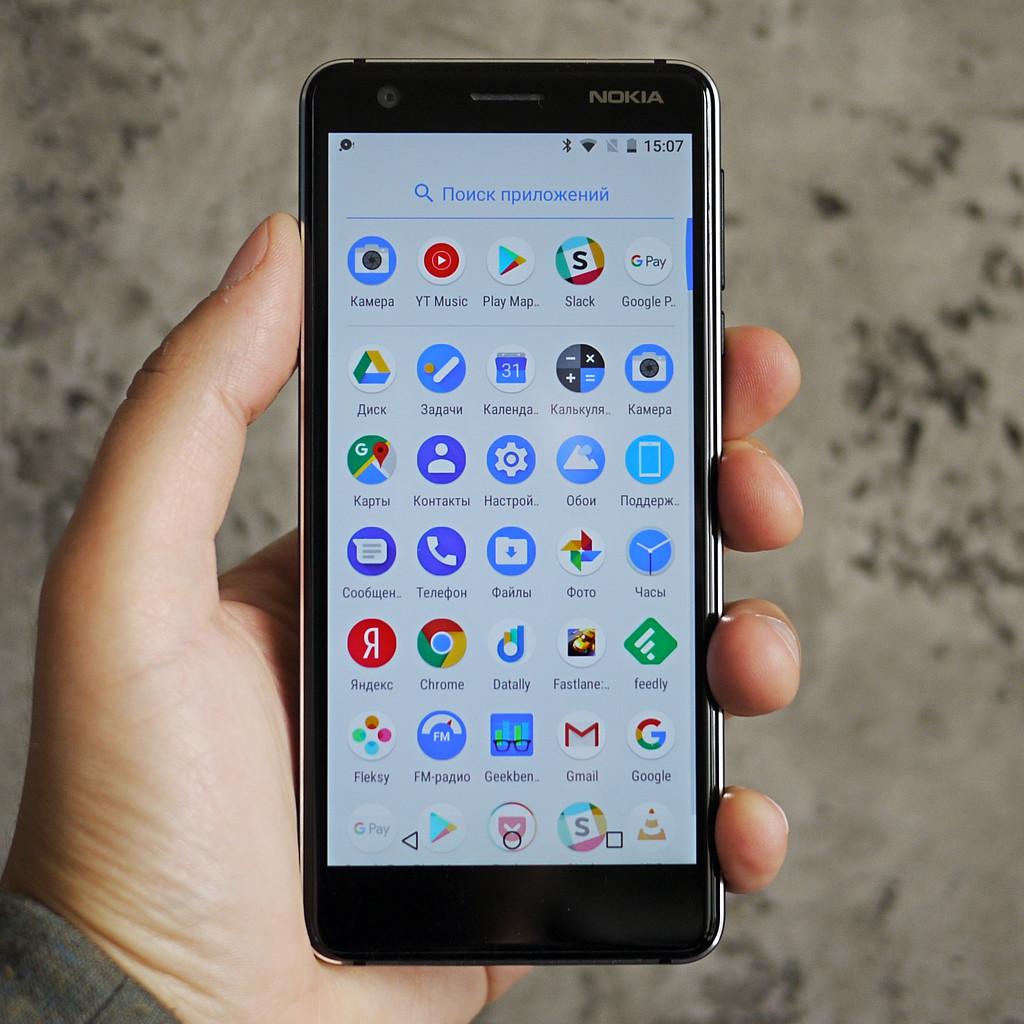 Обзор Nokia 3.1: представительный бюджетный вариант Другие устройства  - 0-4
