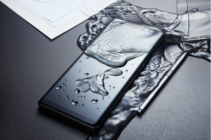 Samsung Galaxy Note 9 все ближе. Качественный рендер. Samsung  - Official-Samsung-Galaxy-Note-9-render-leaks-out-reveals-a-very-Note-8-like-front