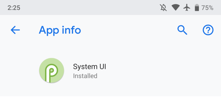 Android P Developer Preview 4. Интересные детали Мир Android  - System-UI-DP4.-750