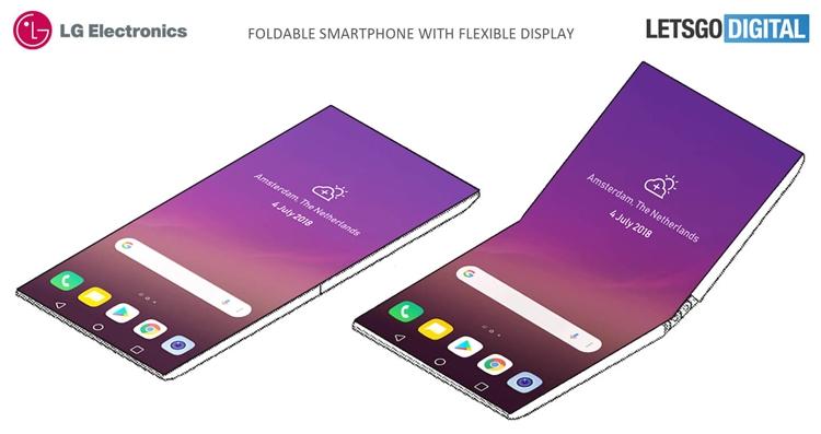 Рассекречен гибкий смартфон от LG LG  - lg1