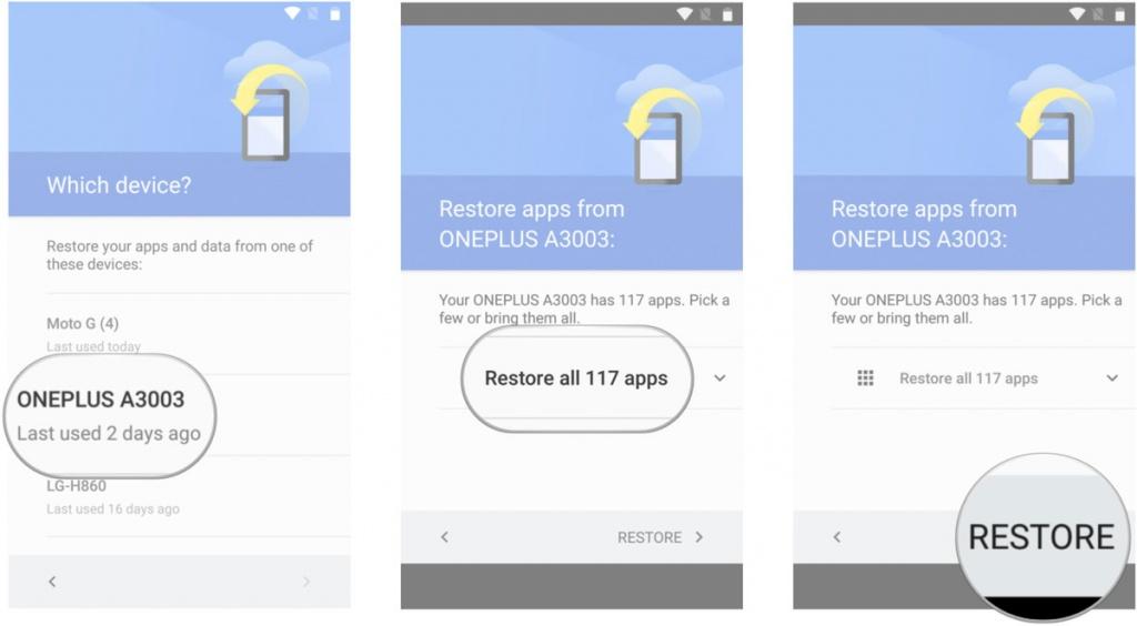 Google позволит вручную создавать резервную копию данных Android Мир Android  - 2sde