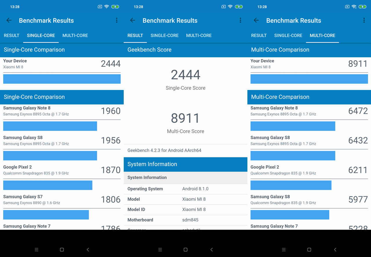 Обзор Xiaomi Mi 8: победитель среди двойников Xiaomi  - 8-4