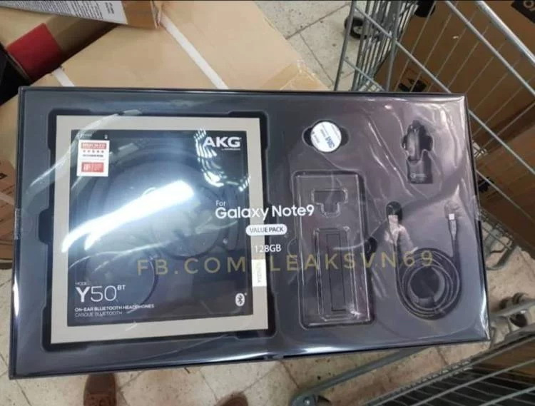 Samsung не надеется на хорошие продажи Galaxy Note 9 Samsung  - galaxy-note-9-value-pack-leak