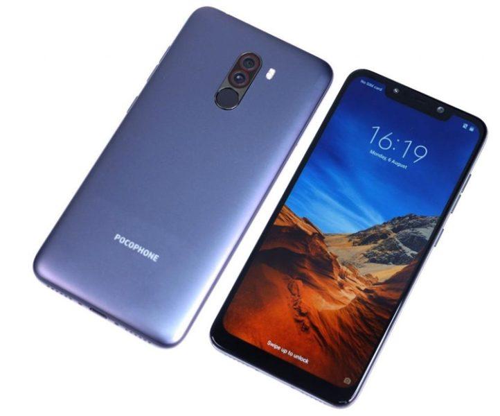 Xiaomi Pocophone F1: Характеристики, дизайн и цена Xiaomi  - poco1