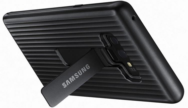Аксессуары для нового Galaxy Note 9: чехлы, зарядная станция Samsung  - sa2