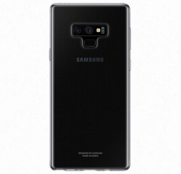Аксессуары для нового Galaxy Note 9: чехлы, зарядная станция Samsung  - sa3