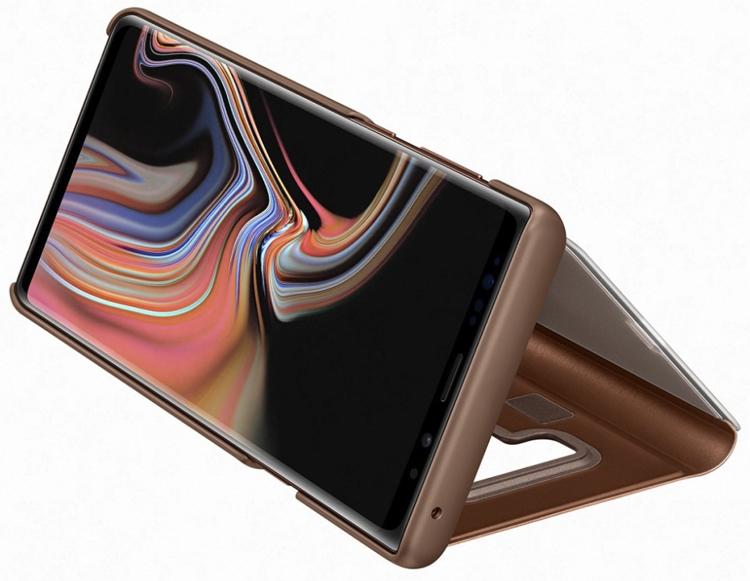 Аксессуары для нового Galaxy Note 9: чехлы, зарядная станция Samsung  - sa6