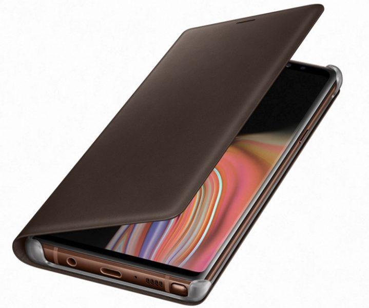 Аксессуары для нового Galaxy Note 9: чехлы, зарядная станция Samsung  - sa9