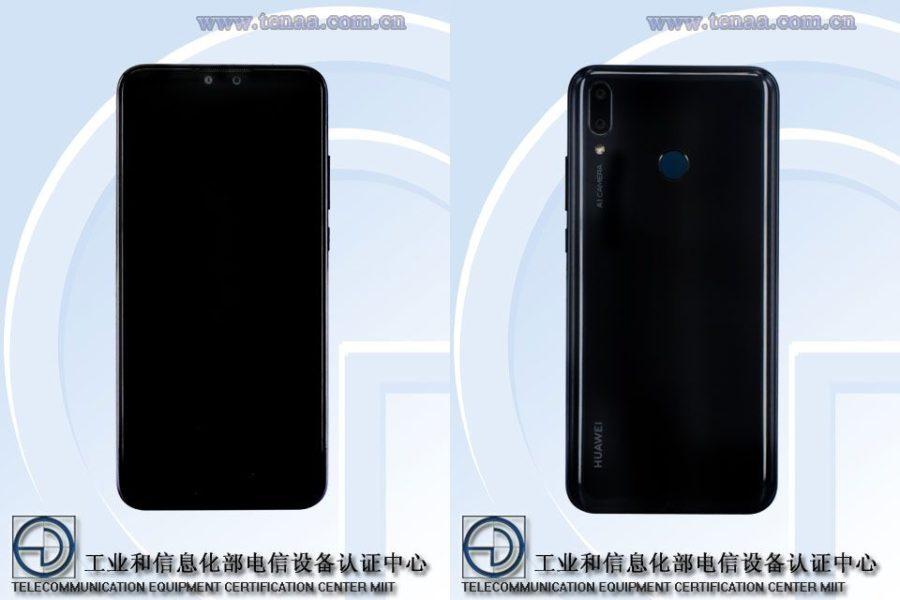 Стали известны характеристики Huawei Y9 (2019) Huawei  - Huawei-Y9-2019-TENAA