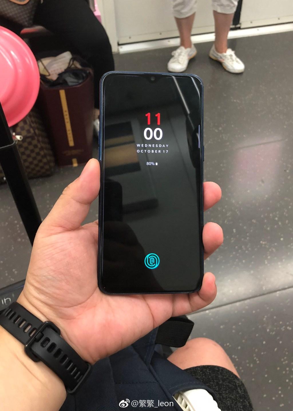OnePlus 6T засветился на «живых» фото Другие устройства  - OnePlus-6T-a