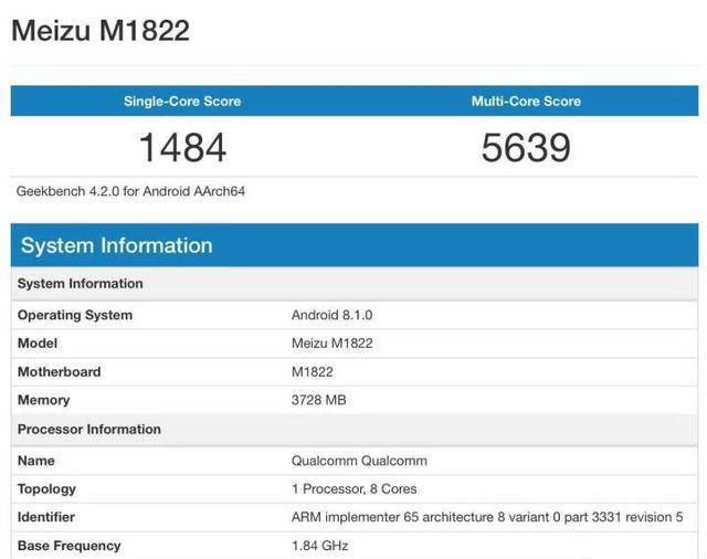 Meizu создает девайс с чипом Snapdragon 632 Meizu  - 1539581443272b9fe414234