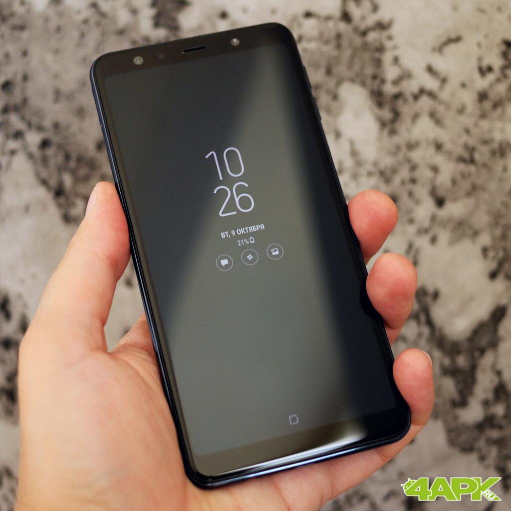 Обзор Samsung Galaxy A7 2018: середнячок с непростой камерой Samsung  - 5-2