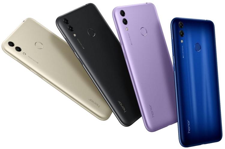 Honor 8C на платформе Snapdragon 632 снабжен экраном HD+ Huawei  - honor1