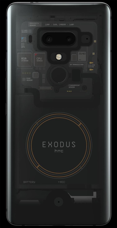 HTC Exodus 1: блокчейн-смартфон за биткоины HTC  - htc2