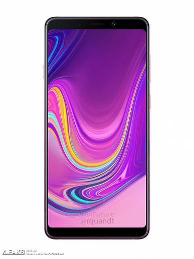 Первый в мире смартфон с 4-мя камерами  Samsung Galaxy A9 Samsung  - samsung-galaxy-a9-2018-sm-a920-1539190114-0-0_large