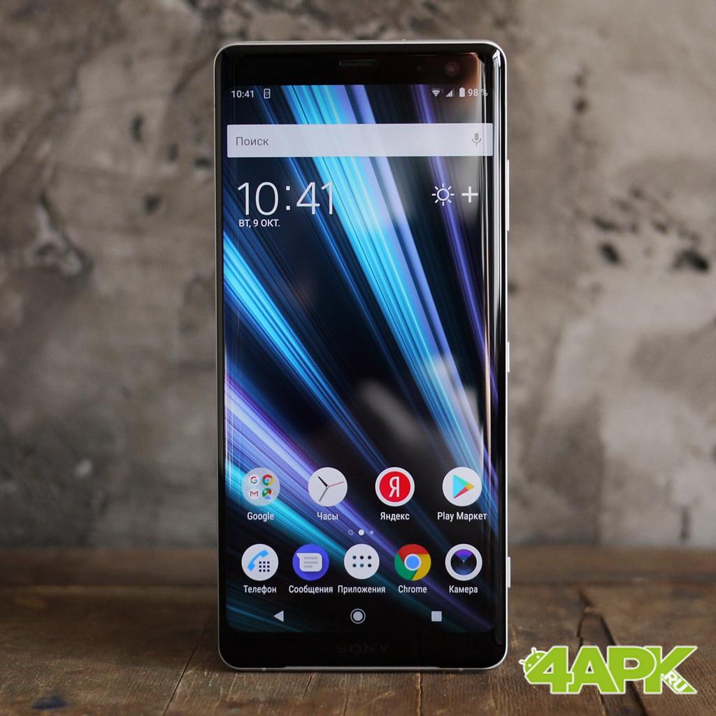 Обзор Sony Xperia XZ3: необычные рамки и OLED экран Другие устройства  - 7-6