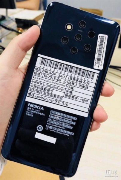 Nokia 9 PureView предложит 5 камер и Android 9.0 Pie Другие устройства  - ro-ri-nokia-9-pureview-co-ten-ma-la-olympic-va-dang-duoc-thu-nghiem-voi-android-pie_2