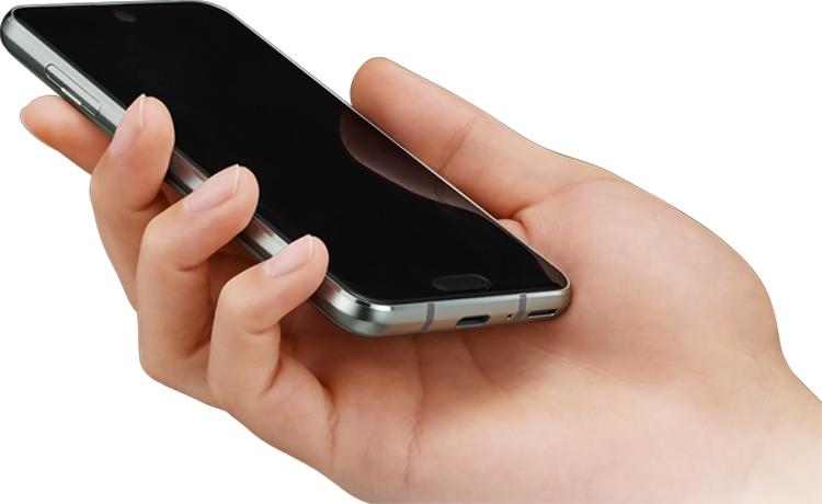 Новый Sharp - смартфон с двумя вырезами в  дисплеем Другие устройства  - sharp2