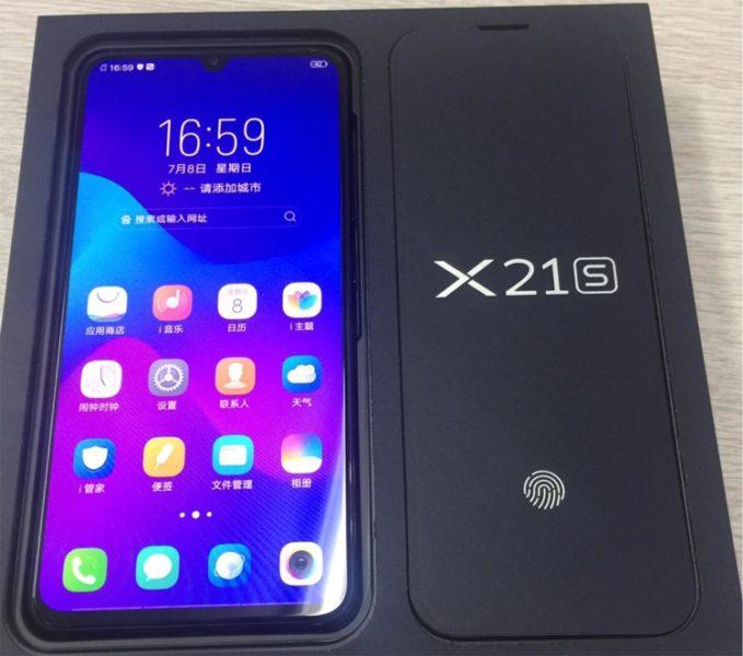 Vivo X21s с процессором Snapdragon 660 показался на фото Другие устройства  - vivo2