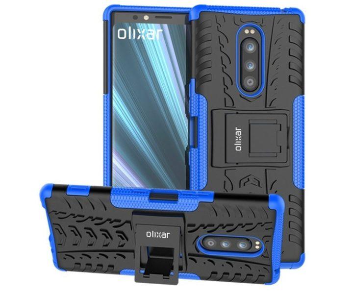 Раскрыт дизайн Sony Xperia XZ4 с тройной камерой Другие устройства  - sony1