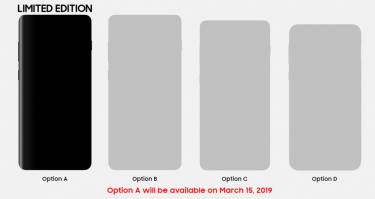 15 марта выйдет ограниченное издание Samsung Galaxy S10+ Samsung  - sm.01.750-1