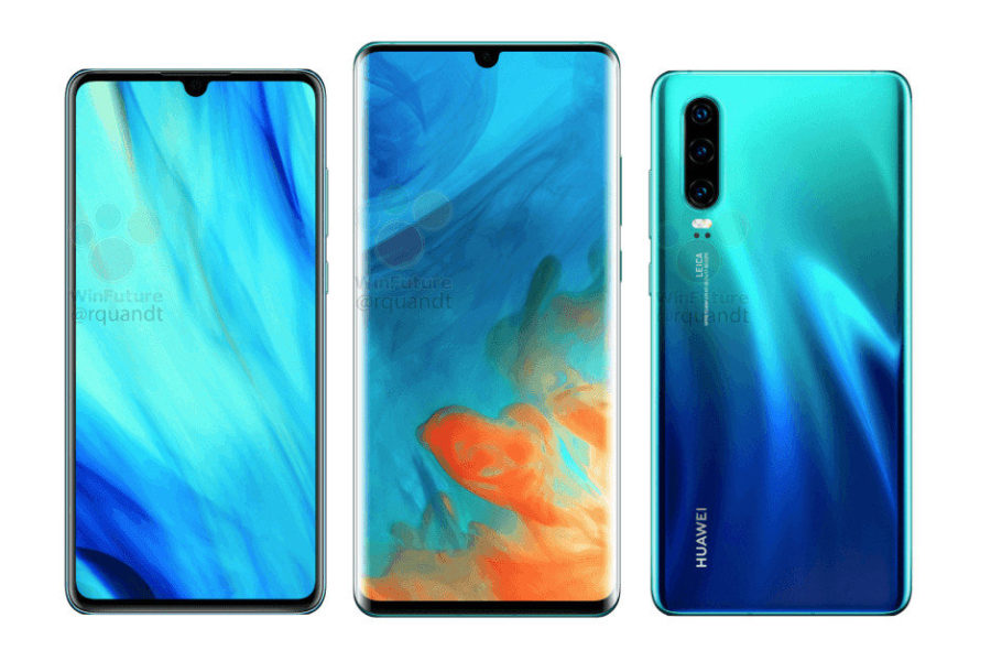 Huawei P30 станет недешевым удовольствием Huawei  - Huawei-may-have-given-up-and-picked-Samsung-as-P30Pro-OLED-display-supplier