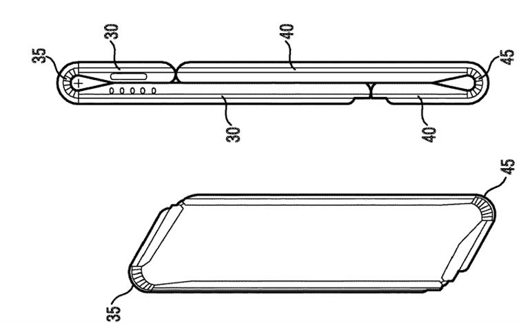 В Samsung запатентовали гибкий девайс со съёмной камерой Samsung  - flex2