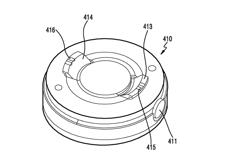 В Samsung запатентовали гибкий девайс со съёмной камерой Samsung  - flex5