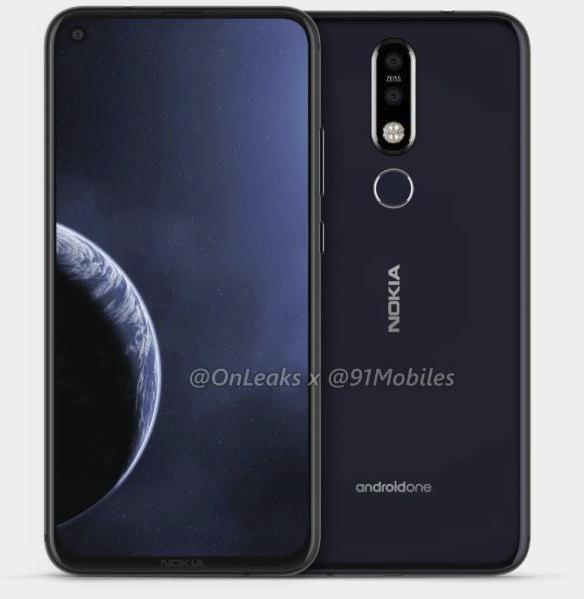 Nokia 6.2 с «дырявым» экраном выйдет до конца весны Другие устройства  - nokia1