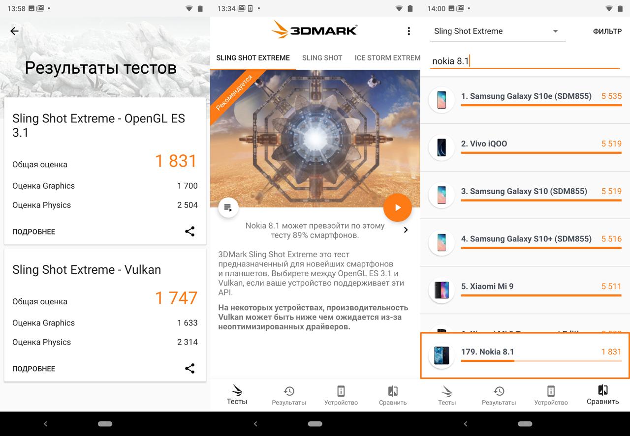 Обзор Nokia 8.1: гаджет с задатками флагмана Другие устройства  - 7-1-1