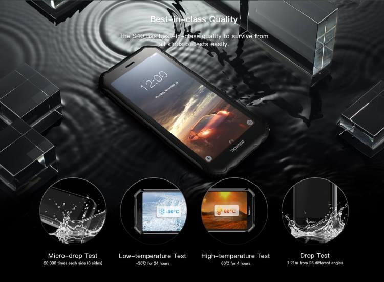 Защищённый Doogee S40 на 4650 мА·ч можно купить за $100 Другие устройства  - s40_07