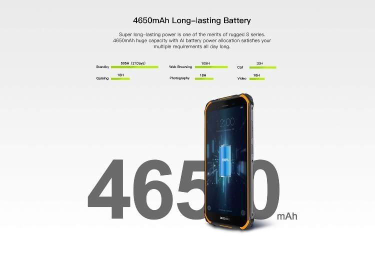 Защищённый Doogee S40 на 4650 мА·ч можно купить за $100 Другие устройства  - s40_08