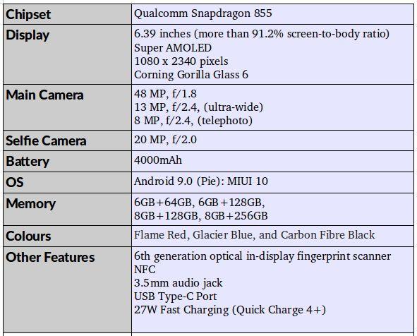 Стали из известны характеристики Redmi K20 Pro Xiaomi  - IMG_2019-05-14_11_51_52