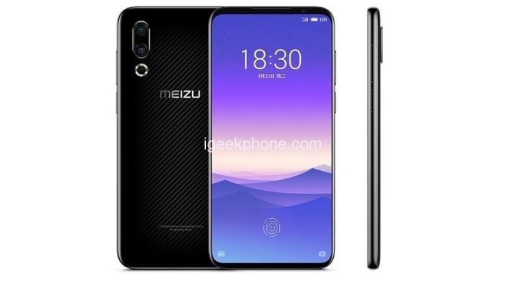 Первая информация о Meizu 16Xs Meizu  - Meizu-16Xs-igeekphone-1