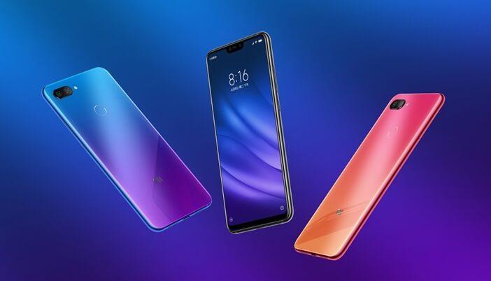 Xiaomi: все модели начиная от недорогих до флагманов Xiaomi  - Mi-8-Lite-gradient-colors