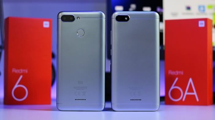 Xiaomi: все модели начиная от недорогих до флагманов Xiaomi  - Redmi-6-and-Redmi-6A