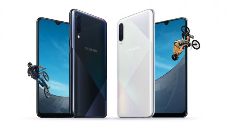 Samsung Galaxy A50s и A30s: дисплей на 6,4 дюйма и тройная камера Samsung  - gal1-1