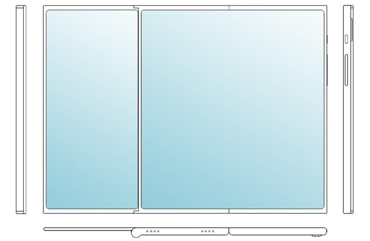 LG создаёт мобильный гаджет двойного складывания Z-Fold? LG  - lg2-1