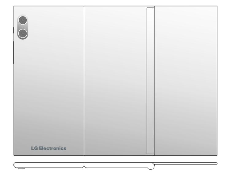 LG создаёт мобильный гаджет двойного складывания Z-Fold? LG  - lg3