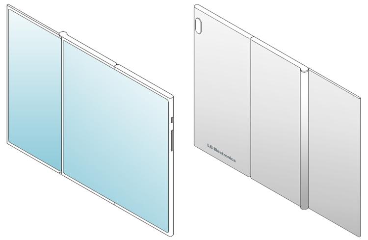 LG создаёт мобильный гаджет двойного складывания Z-Fold? LG  - lg4