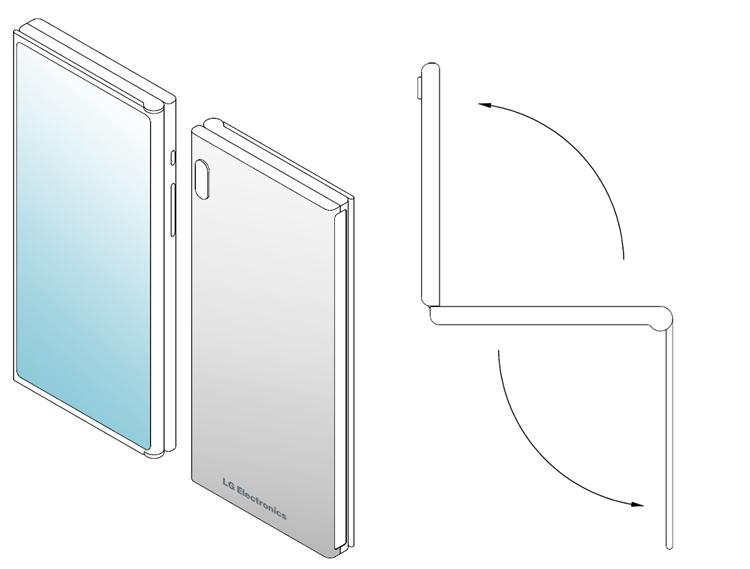 LG создаёт мобильный гаджет двойного складывания Z-Fold? LG  - lg5