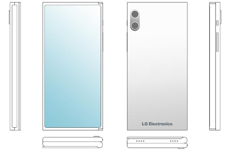 LG создаёт мобильный гаджет двойного складывания Z-Fold? LG  - lg6