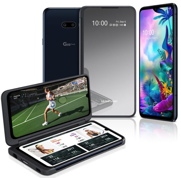 LG G8X ThinQ с улучшенным чехлом Dual Screen и 2-мя экранами LG  - lg1-1