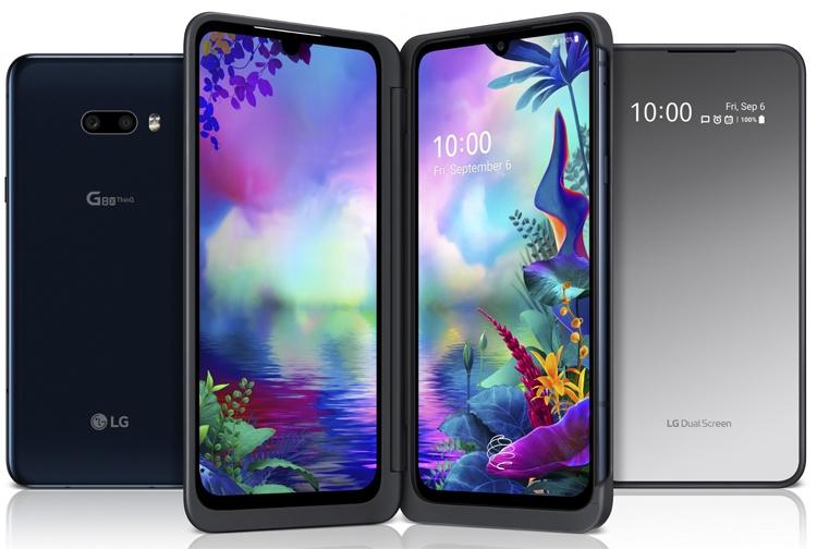 LG G8X ThinQ с улучшенным чехлом Dual Screen и 2-мя экранами LG  - lg3-1