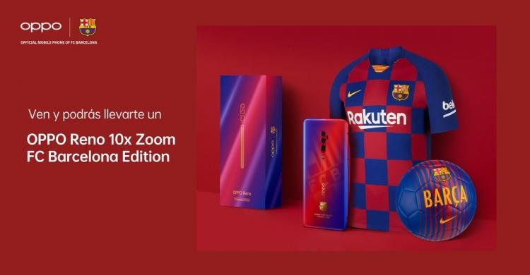 OPPO Reno 10x Zoom FC Barcelona Edition для фанатов испанского клуба Другие устройства  - sm.D_1aNHiWkAASQ0i.750