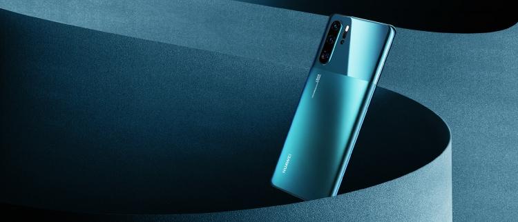 Обновлённый Huawei P30 Pro выйдет в 2х новых цветах с EMUI10 Huawei  - sm.Product-photo-New-HUAWEI-P30-Pro-Mystic-Blue.750