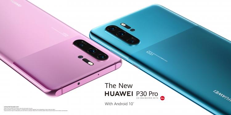 Обновлённый Huawei P30 Pro выйдет в 2х новых цветах с EMUI10 Huawei  - sm.Product-photo-New-HUAWEI-P30-Pro.750